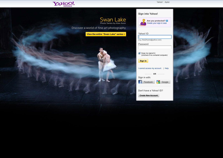 The Yahoo! Login Page Creative Competition :: Zitec Blog