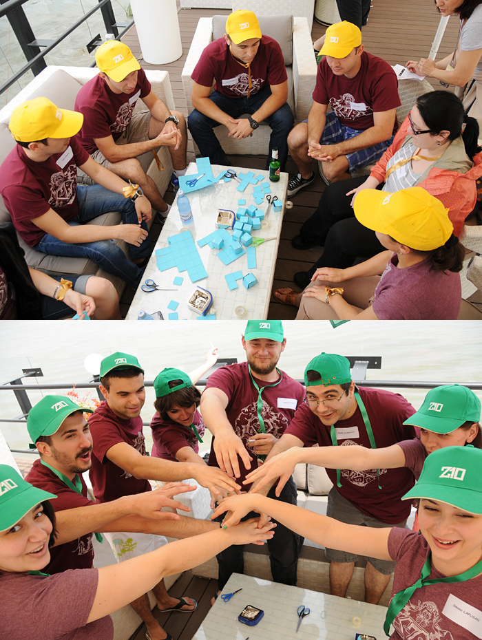 zitec-team-building-cubes